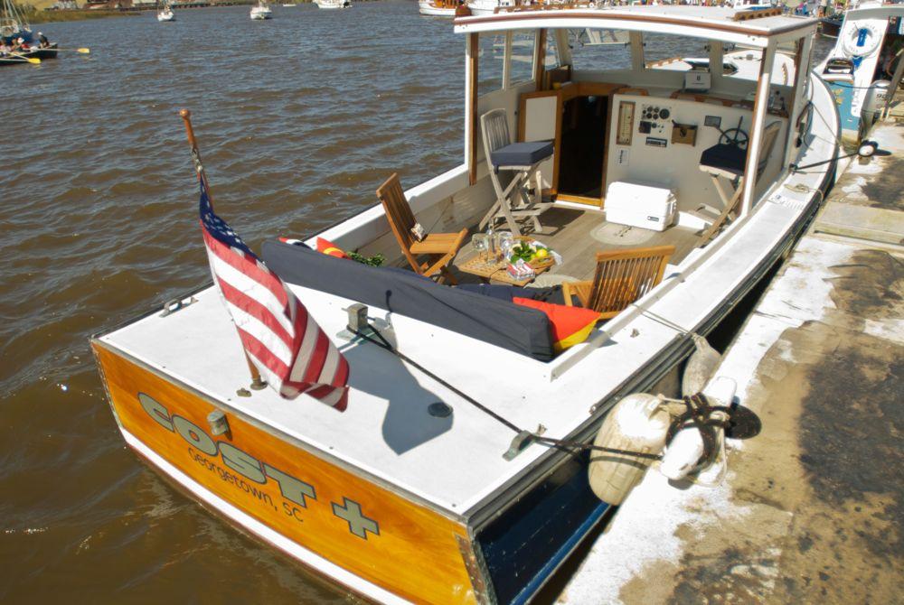 Inboard Power Georgetown Wooden Boat Show | Georgetown, SC