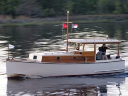 Classic Inboard Power Georgetown Wooden Boat Show
