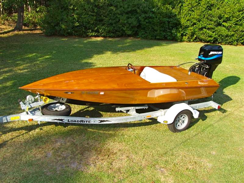 Ceader cypress strip power boats
