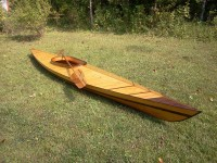 Richard Barefoot Kayak