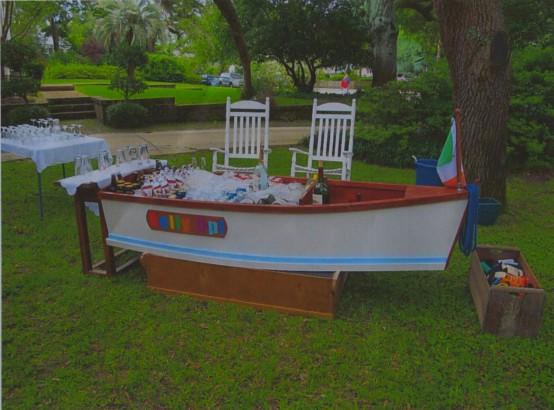 Chuck Bennett Beverage Boat
