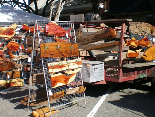 Commercial exhibits georgetown wooden boat show